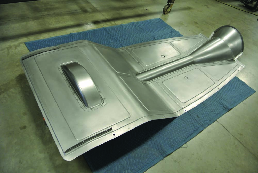 04 Aluminum intierior components for 1934 Ford 5-Window