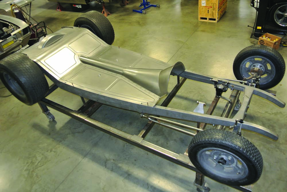 05 Custom fabricated chassis for 5-Window Coupe