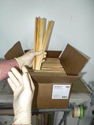 06 Paying for premium Wooden Stir Sticks