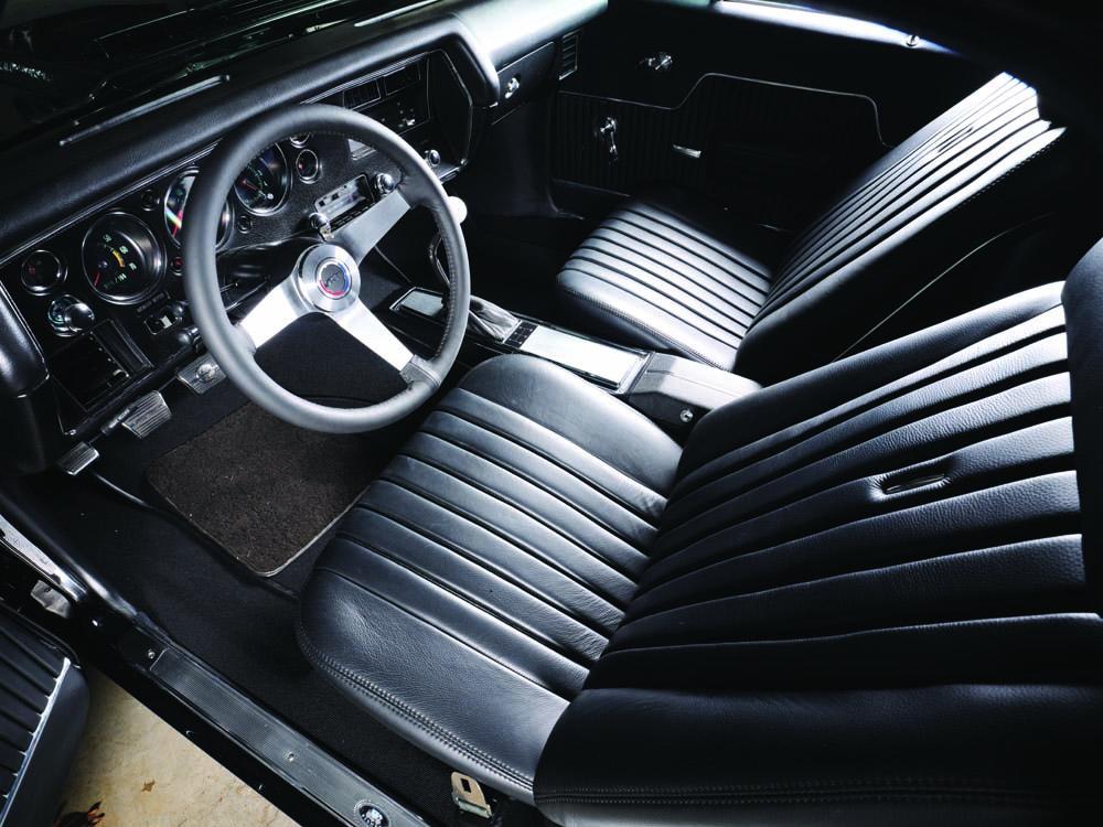 10 Custom interior with SS bucket seats by Pro Auto Custom interior