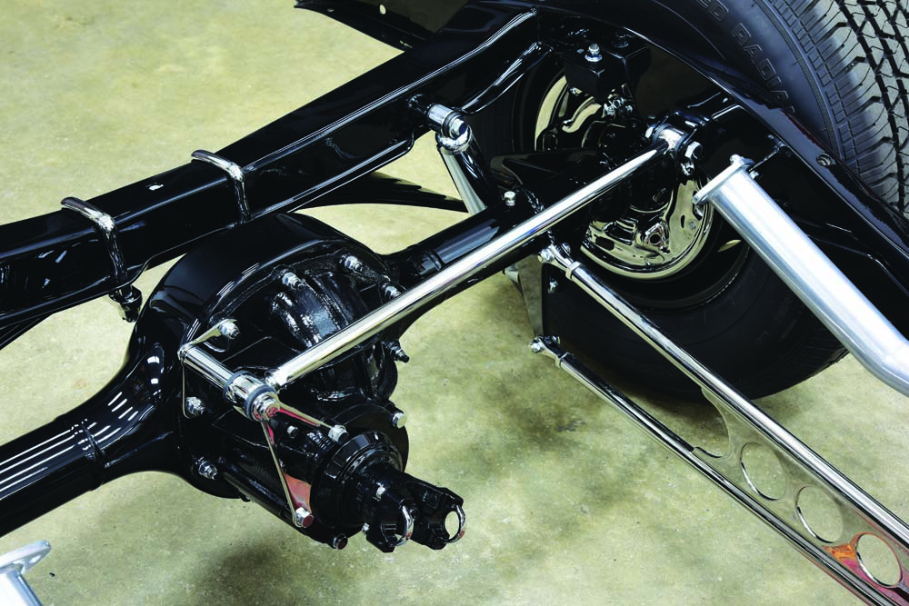 13 Ford 9-inch rear end and loads of speed shop parts and Magnum Force Suspension