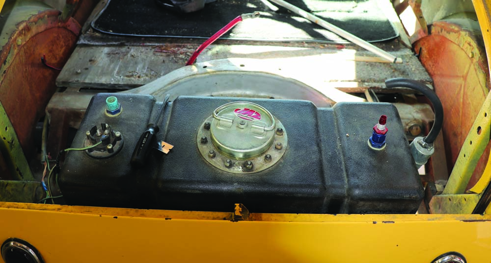 13 Model A fuel cell needs to be relocated