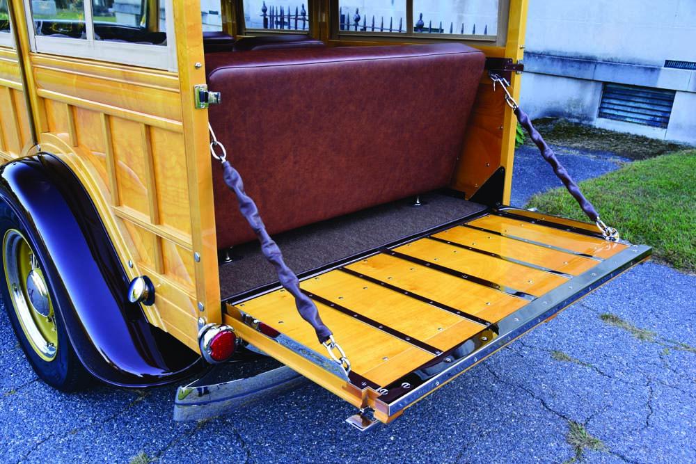 14 Custom interior and vintage steel on wheel vintiques
