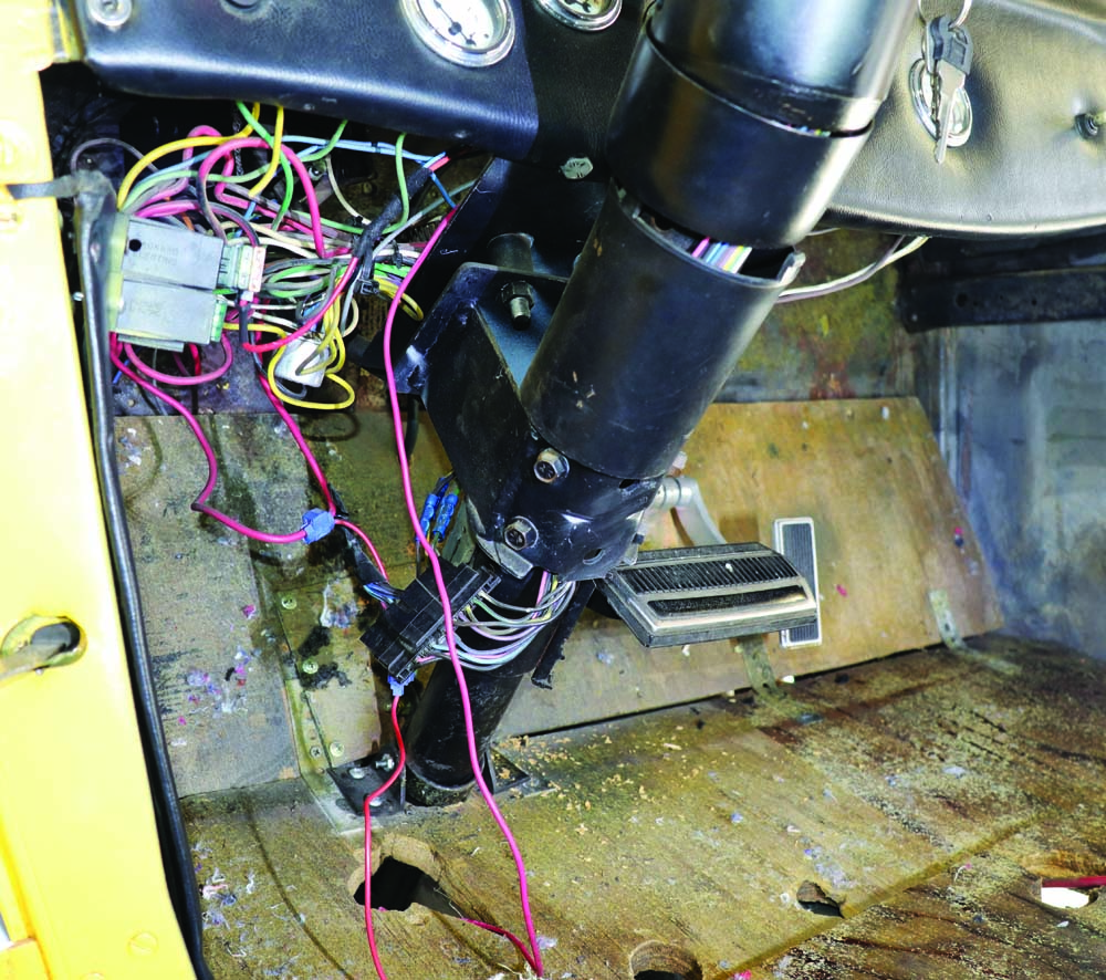 16 Rewiring the entire 1931 Model A Ford