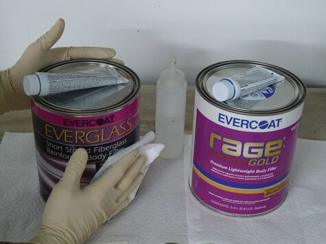 17 Undamaged goods from Summit racing painting supplies
