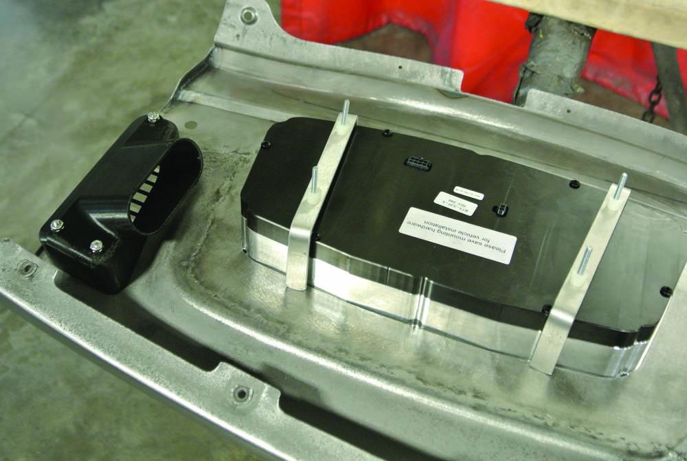 24 Dakota Digital gauges clean and simple mounting system