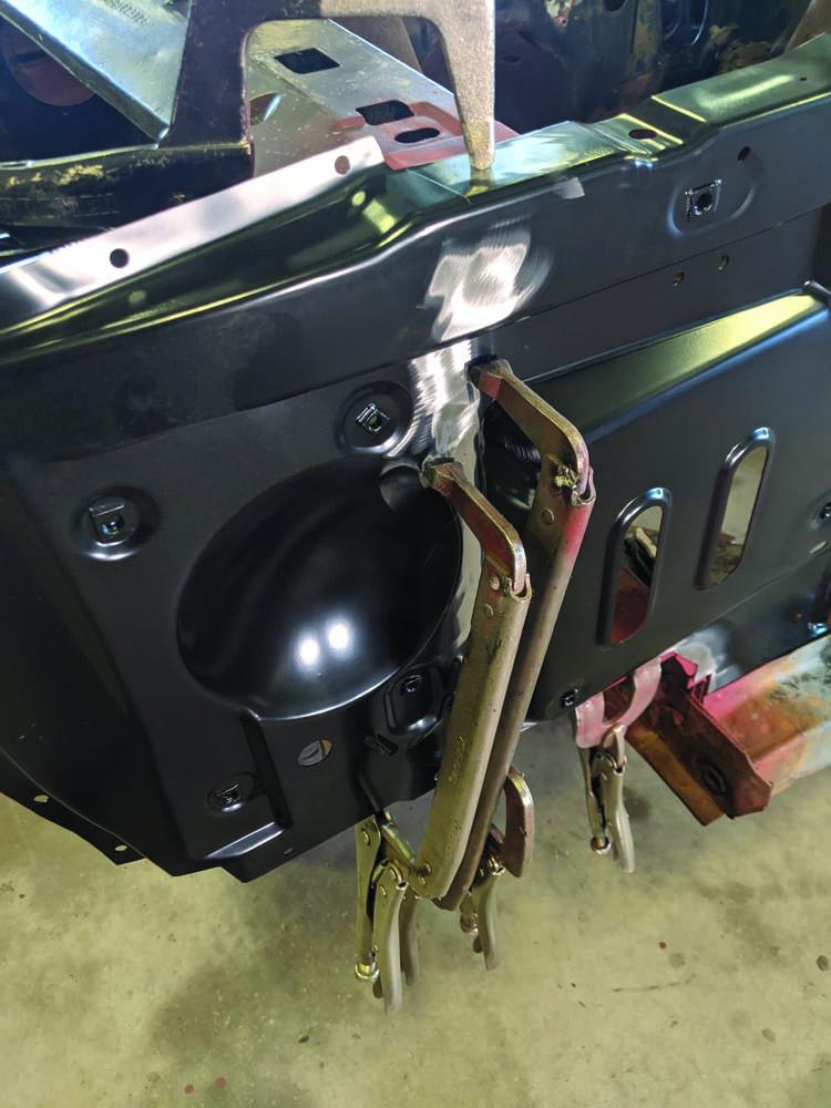 33 1969 Ford Torino radiator core suppport