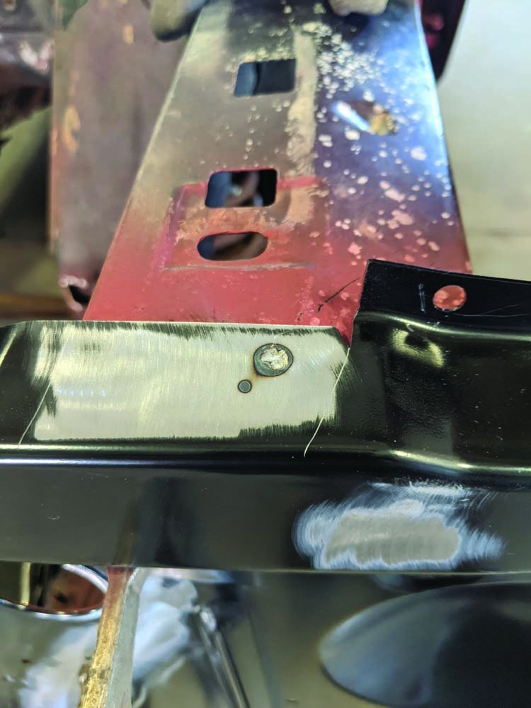 34 Spot welding process requires time for factory fit