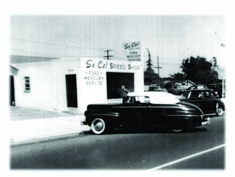 09 So-Cal Speed Shop eventually got a store front with a 1941 Convertible out front